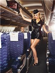 Airline | Dress, Headwear, Skirt, Scarf | Baci Dreams
