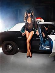 Police | Headwear, Belt, Chemise, Panty