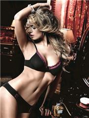 Bra | Mesh and Lace Bra with Underwire
